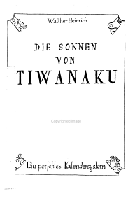 Die Sonnen von Tiwanaku PDF