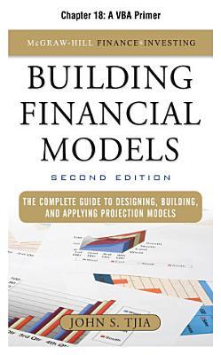 Building Financial Models  Chapter 18   A VBA Primer PDF