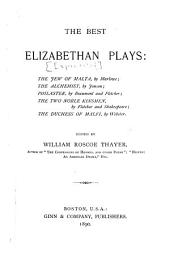 The Best Elizabethan Plays