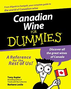 Canadian Wine for Dummies Book