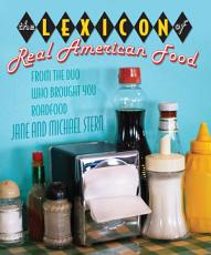 Lexicon of Real American Food PDF