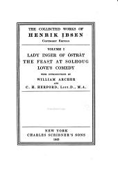 The Collected Works of Henrik Ibsen: Volume 1