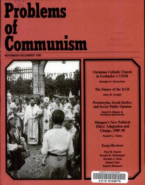 Problems of Communism PDF
