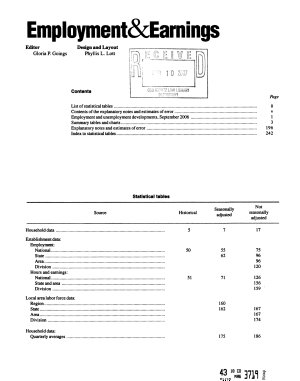 Employment and Earnings PDF