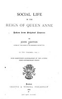 Social Life in the Reign of Queen Anne PDF