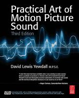 The Practical Art of Motion Picture Sound PDF