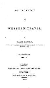 Retrospect of western travel: Volume 2