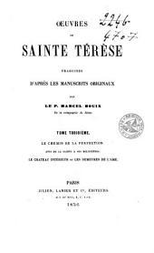 Oeuvres de Sainte Térèse: Volume3