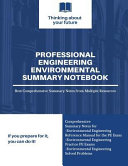 Professional Engineering Environmental Summary Notes
