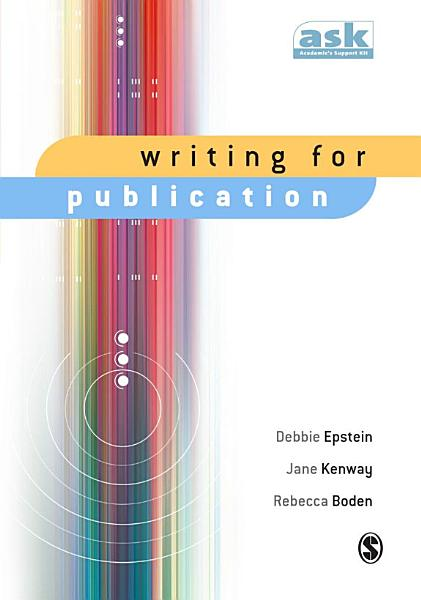 Download Writing for Publication Book