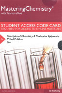 MasteringChemistry with Pearson EText    Standalone Access Card    for Principles of Chemistry