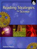 Reading Strategies for Science PDF