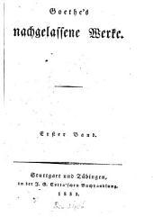 Werke: Faust. Der Tragödie zweyter Theil in fünf Acten, Band 41