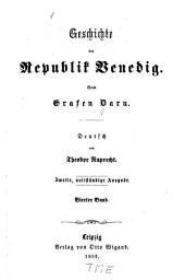 Geschichte der Republik Venedig: Band 4