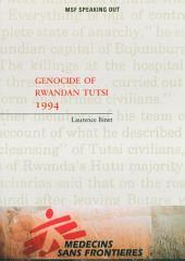 Genocide of Rwandan Tutsi 1994
