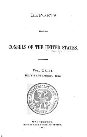 Reports from the Consuls of the United States PDF