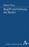 Begriff und Geltung des Rechts PDF