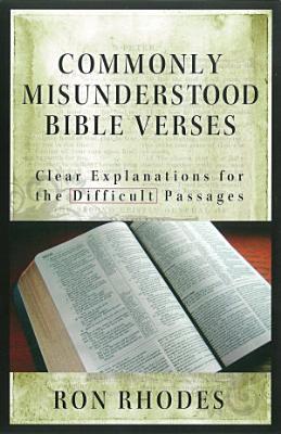Commonly Misunderstood Bible Verses PDF