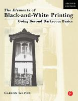 Elements of Black and White Printing PDF