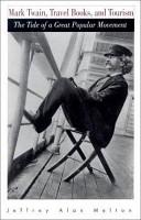 Mark Twain  Travel Books  and Tourism PDF