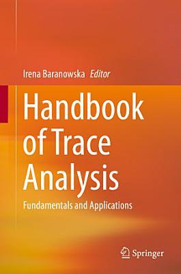 Handbook of Trace Analysis