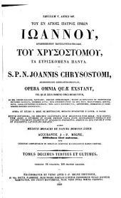Patrologiae cursus completus ...: Series graeca, Volume 64