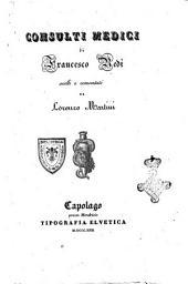 Consulti medici di Francesco Redi