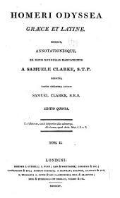 Homeri Odyssea graece et latine: Volume 1