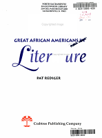 Great African Americans in Literature PDF