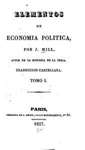 Elementos de economia politica: Volumen 1