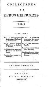 Collectanea de Rebus Hibernicus: Volume 1