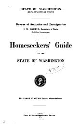 Homeseeker's Guide to the State of Washington