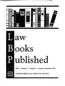 Law Books Published PDF