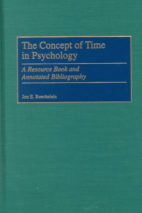 The Concept of Time in Psychology