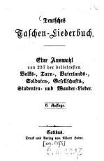 Deutsches Taschen Liederbuch PDF