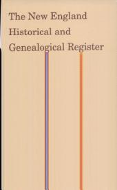 The New England Historical and Genealogical Register,: Volume 40 1886