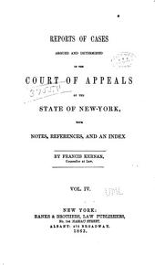 Reports of Cases Decided in the Court of Appeals of the State of New York: Volume 14