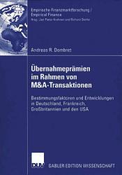 bernahmepr  mien im Rahmen von M A Transaktionen PDF