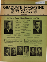 The Graduate Magazine of the University of Kansas PDF