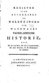 Vaderlandsche historie: vervattende de geschiedenissen der nu Vereenigde Nederlanden, in zonderheid die van Holland, van de vroegste tyden af: Uit de geloofwaardigste schryvers en egte gedenkstukken samengesteld, Volume 1