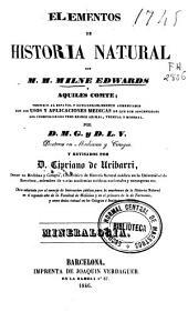 Elementos de historia natural: Mineralogía, Volumen 3