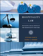 Hospitality Law: Managing Legal Issues in the Hospitality Industry, Edition 5