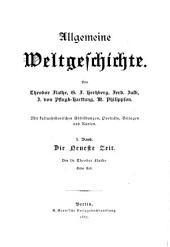 Allgemeine Weltgeschichte: Band 10