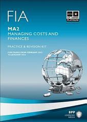 FIA Managing Costs and Finances - MA2 -Kit