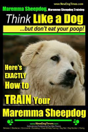 Maremma Sheepdog Maremma Sheepdog Training Think Like a Dog But Don't Eat Your Poop!