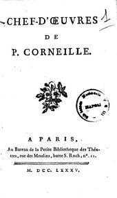 Chef-d'oeuvres de P. Corneille