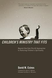 Children   S Ministry That Fits