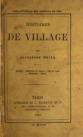 Histoires de village par Alexandre Weill