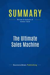 Summary The Ultimate Sales Machine Book PDF