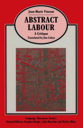 Abstract Labour: A Critique